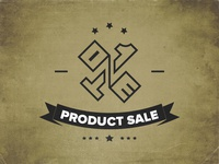 One Product Sale Logo