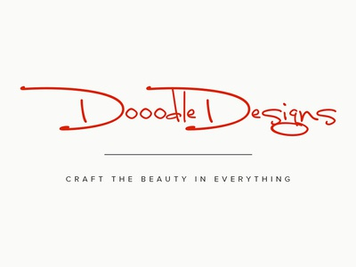 DooodleDesigns Logo logo design dooodle doodle