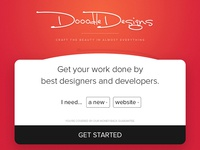 DooodleDesigns Home page
