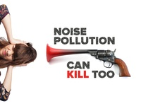 Noise Pollution poster