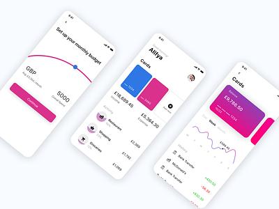 banking application product design ai ios app design daily ui illustration ux ui