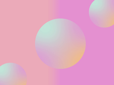 Dreamy Gradient motion graphics animation ui