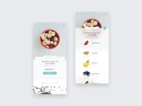 Food cart UI