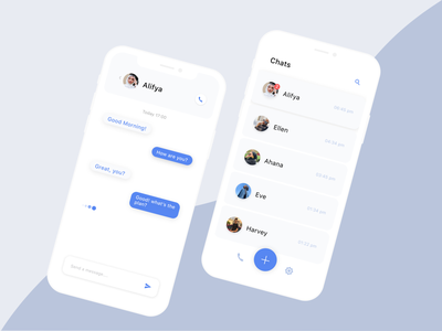 Chat Application uxdesign chat app product thinking product design product application chat design ux ui