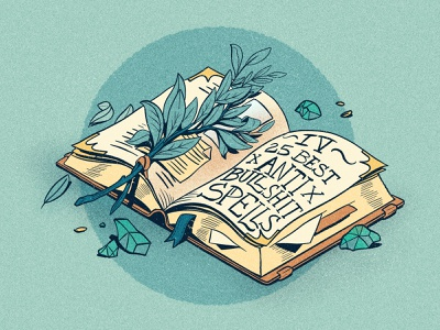 Books & Spells & BS botanical illustration botanical spells magical fantasy art book drawing digitalart book illustration procreate drawingart digital illustration digital art digital drawing art illustration