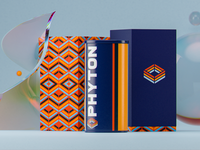 Phyton Packaging packaging type branding logo design