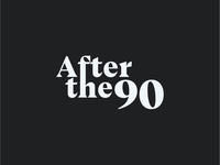 Logo for after the 90 - a football show
