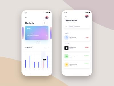 Wallet: Statistics, Transactions