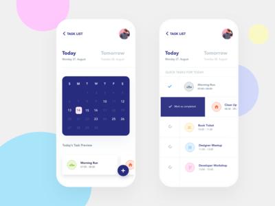 Task Manager App Concept