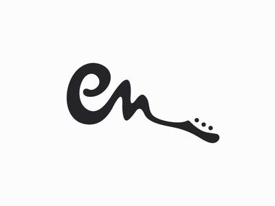 Logo design for Guitarist Eddie van der Meer.