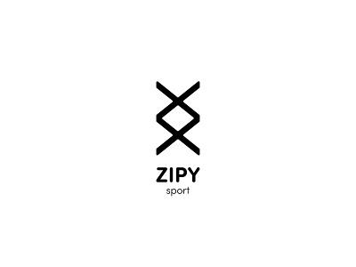ZIPY Identity apparel logo apparel design nike apparel zip sport dribbble professional identity creative logo