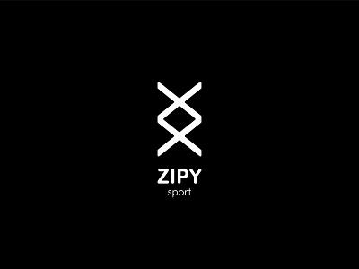 ZIPY Identity apparel nike sport logodesign logopeak zipy letter design branding creative logo