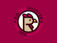 Big Red Rooster Logo