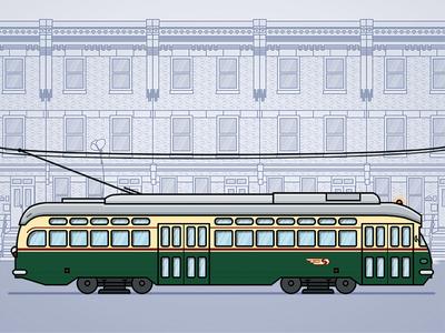 SEPTA Girard Trolley