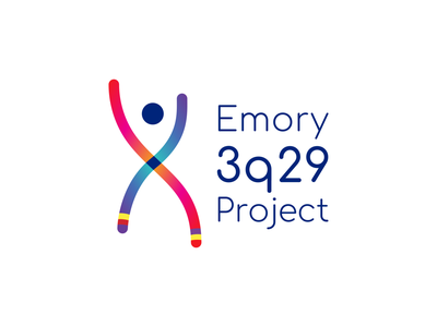 Emory 3q29 Project dna chromosome genetics science logo