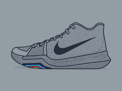 "Kyrie 3 ""Cool Grey"""