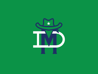 Dallas Mavericks monogram