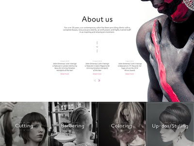 Entrenous ux ui interface web site