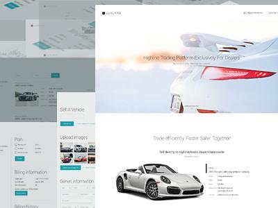 Luxlane trend style prototype uikit web ui ux site interface