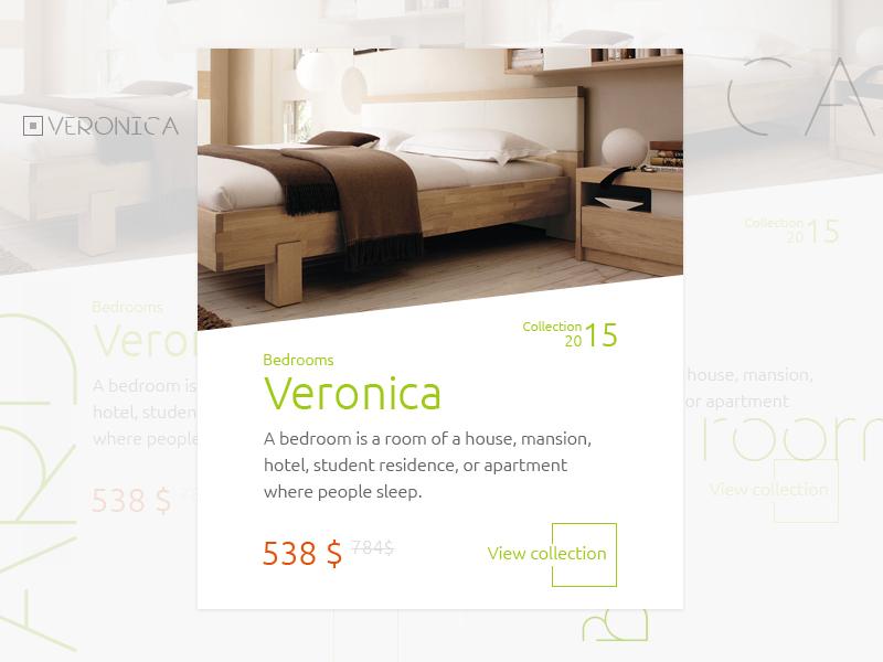 Furniture Factory Site (Card Product) card modular design site ui web style trend user interface desktop