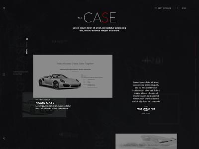 Rlashkevich ♦ Promo site ♦ Case web user ui trend style site promo interface desktop