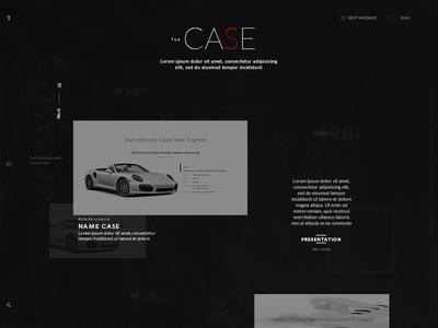 Rlashkevich ♦ Promo site ♦ Case