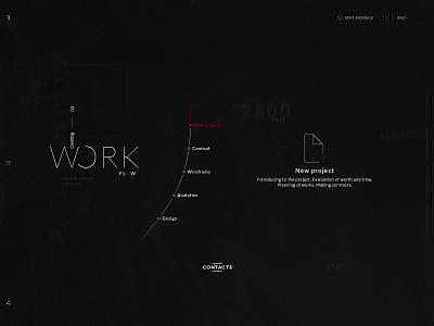 Rlashkevich ♦ Promo site ♦ Workflow web user ui trend style site promo interface desktop