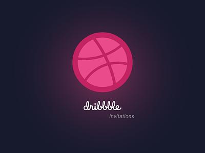 4 Invitations hello dribbble invites invite invitations invitation