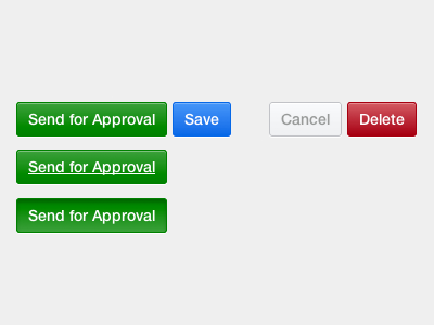 Buttons ui buttons css simple hover active