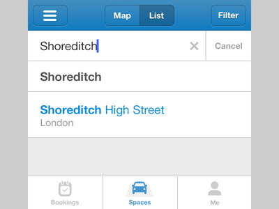 Some random ui helvetica neue ui ios app autocomplete navigation bar tab bar psd simple