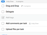 Team task management app