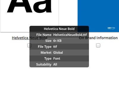 Metadata Overlays freight sans grid thumbnails metadata overlay