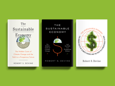 Sustainable economy sustainable book cover