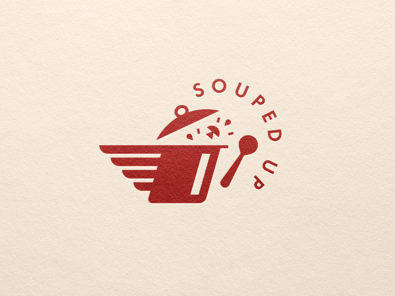 Souped delivery soup logo