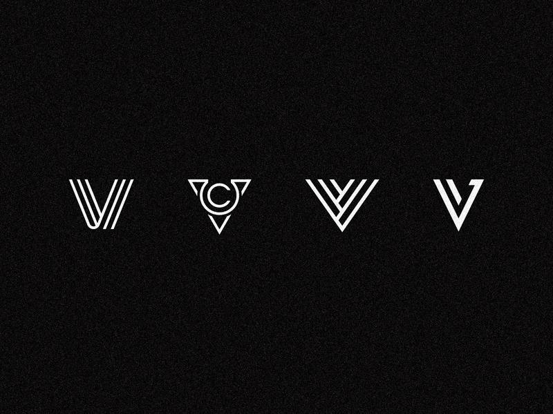 4 V icon logomark v