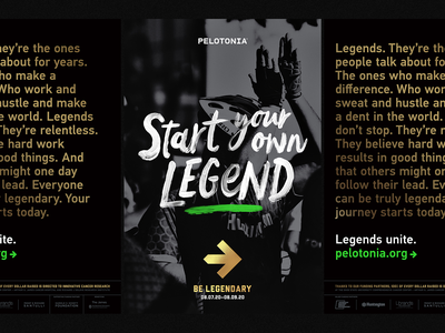 Start Your Own Legend poster