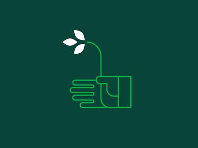 Green Thumb green glove gardening giving