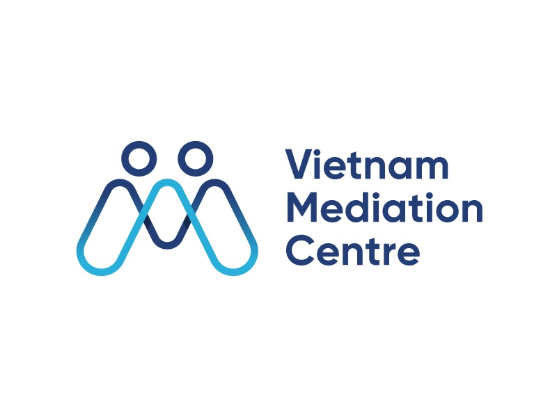 Vietnam Mediation Centre logo concept mediation mark brand identity brand logo