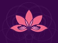 Lotus Symbol - Sauna & Massage logo
