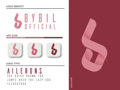 B for BYBIL   Logo Design graphic design branding design logo