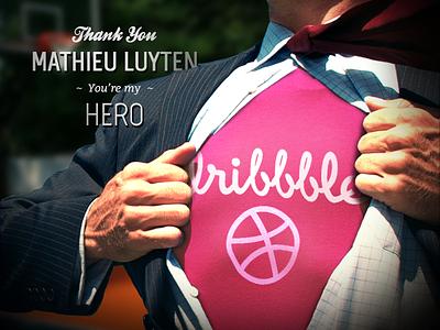 Thank You Mathieu Luyten hero debut thank you