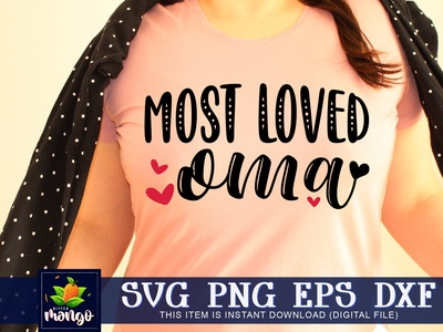 Most loved oma SVG most loved oma svg