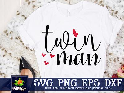Twinman SVG svg silhouette svg digital download cricut twinman svg