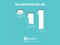 Files are like toilet rolls