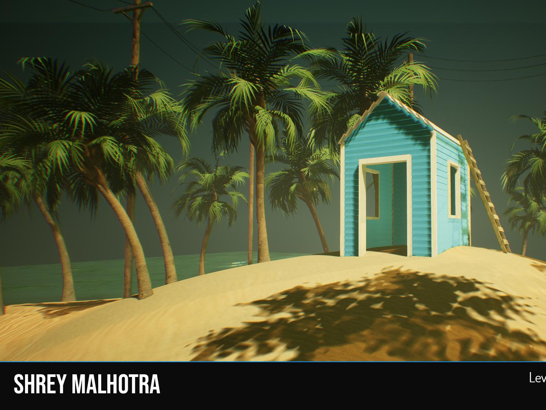 VR Project - Environment Art game art game design environment design vr