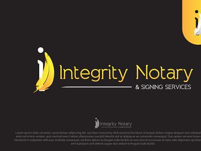 Logo = Integrity Notary
