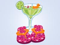 Poolside Margarita