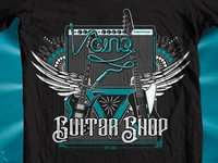 CINQ Guitar Shop Tee