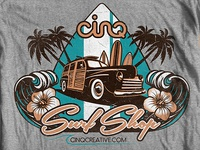 Cinq Surf Shop Tee - Final