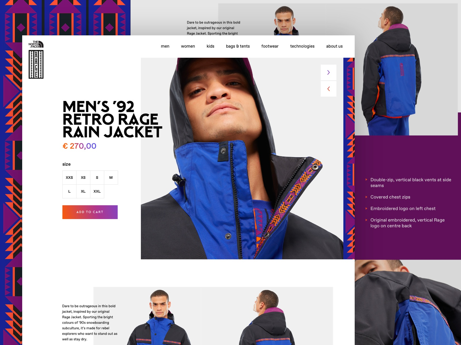 Tnf product page